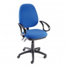 Operator Chair - With Arms - Blue