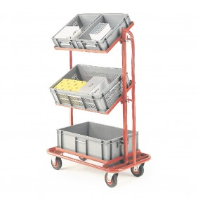 3 Tier Container Trolley