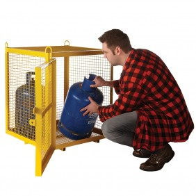 Galvanised Security Cages