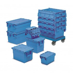 Premium Attached Lid Containers