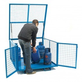 Security Cage With Lift Up Lid