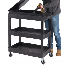 Service Trolleys with a Lockable Toolbox