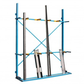 Vertical Storage Rack with Arms