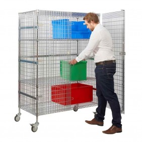 Wire Mesh Security Trolleys
